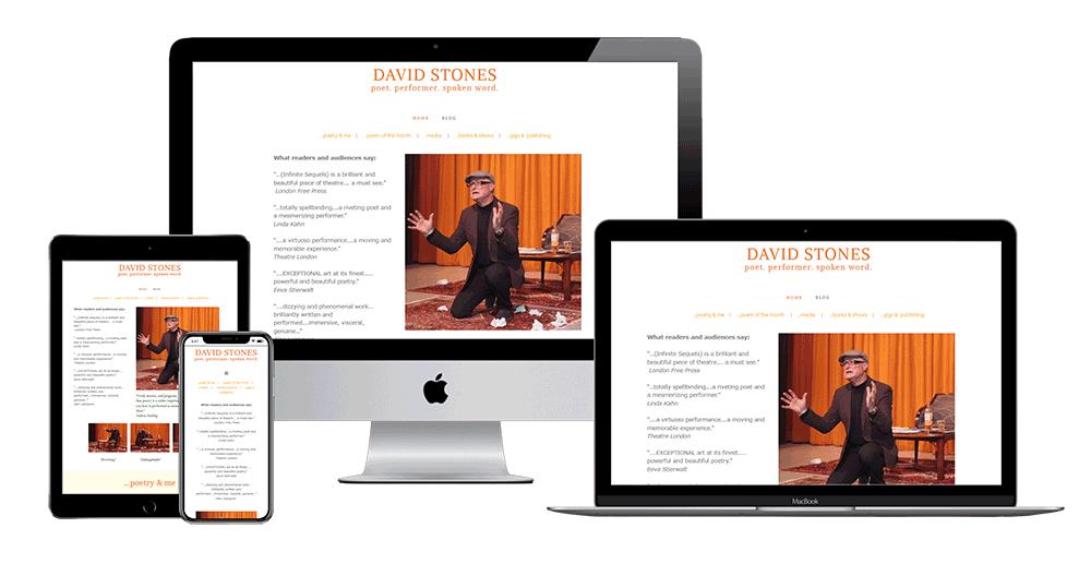website design for authors